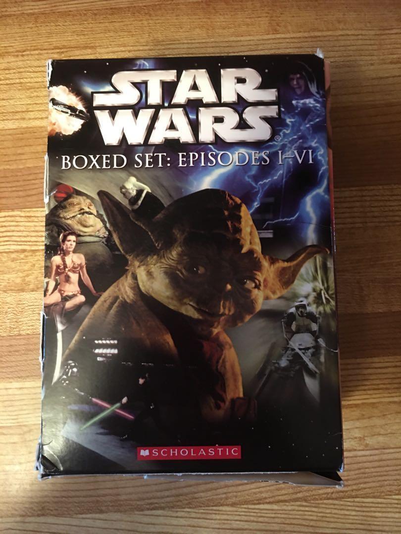 STAR WARS BOX SET PAPERBACKS EPISODES 1-V1