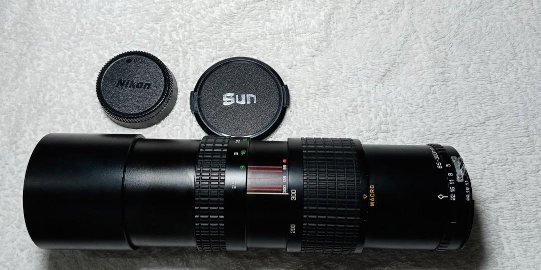 sun nikon mount camera lens used good condition