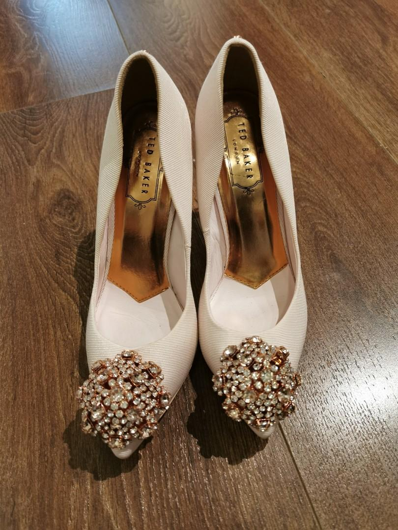Ted Baker Peetch brooch detail courts heels