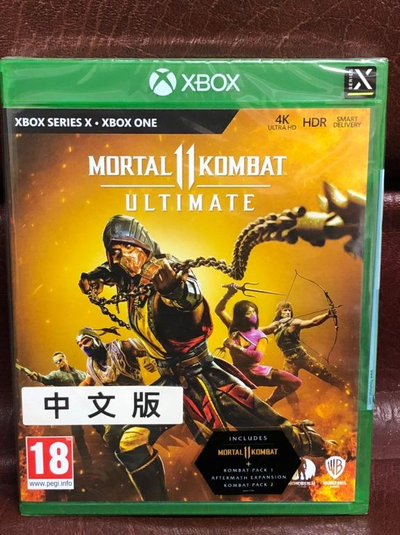 全新 Mortal Kombat 11 ULTIMATE ENGLISH 真人快打11終極版 中文版  XOBX ONE XBOX SERIES X