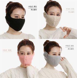私訊下單免運 全新現貨 泰迪絨 保暖護耳面罩