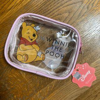 小熊維尼 透明 防水 化妝包 盥洗包