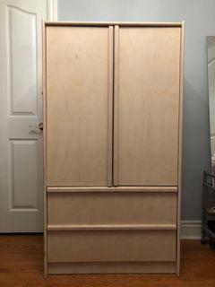Armoire wooden dresser