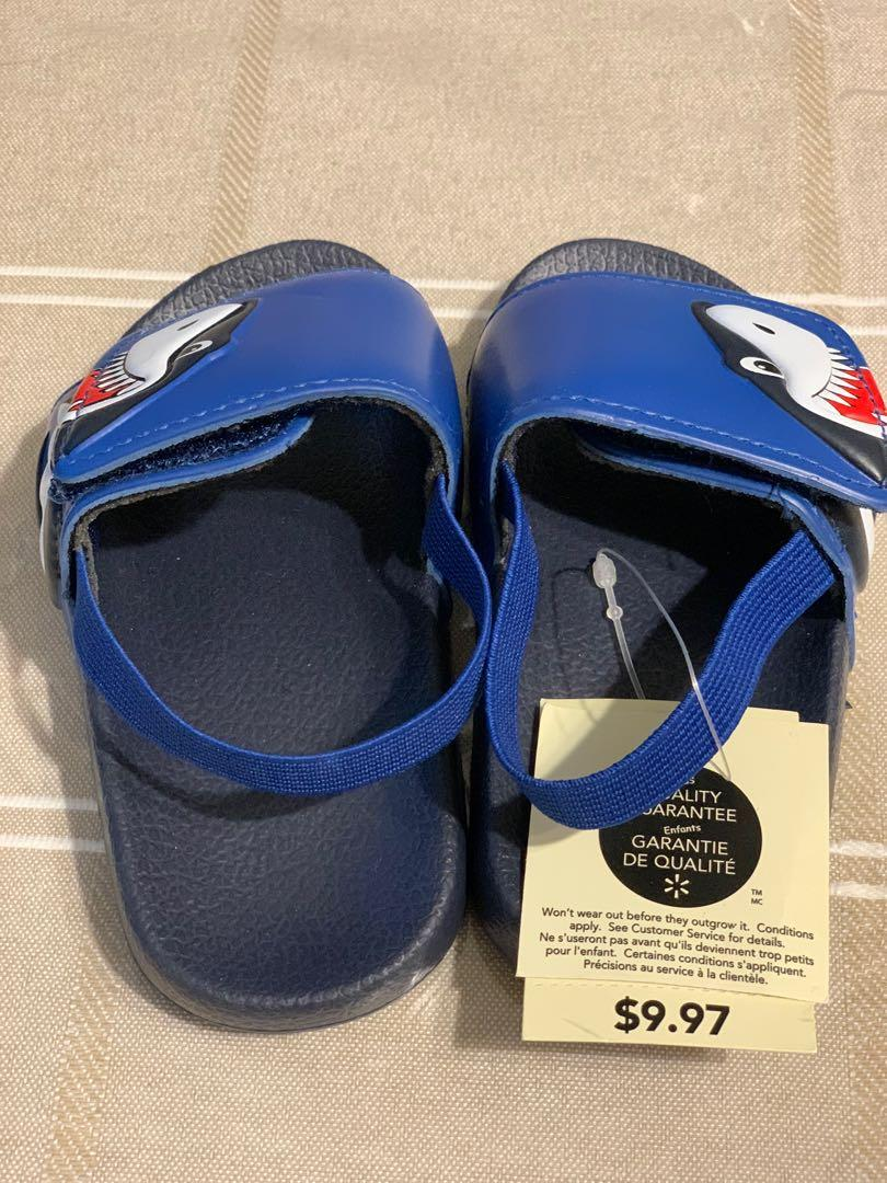 Brand new George toddler boys sandals sz 5/6
