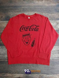Crewneck Uniqlo X Coca-Cola Size : XL PxL : 71x65