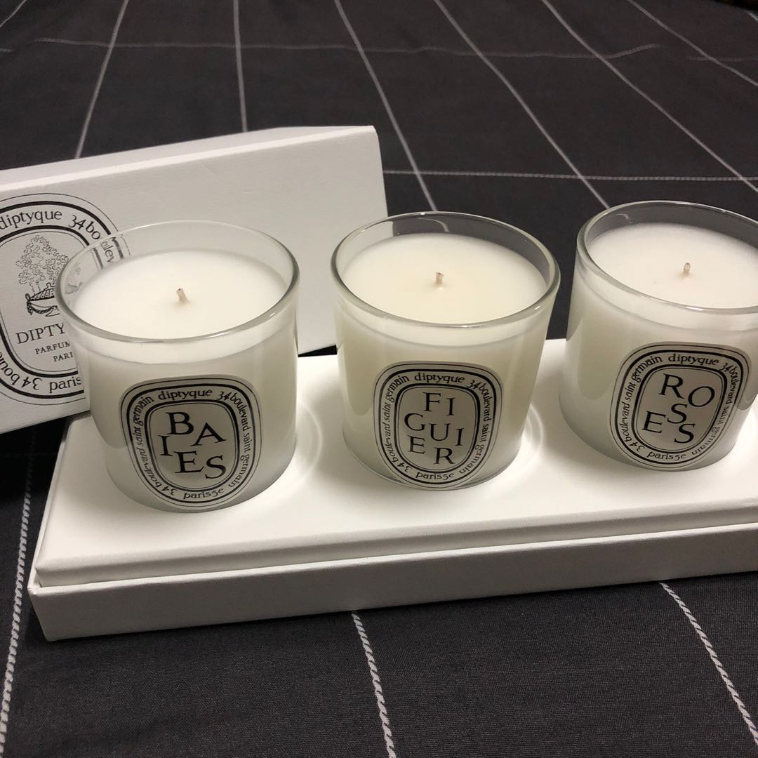 20 Ori Diptyque Candle Set, Home & Furniture, Home Décor on ...