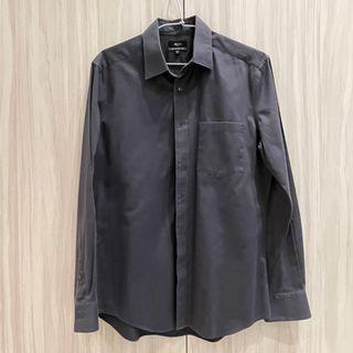 G2000 男生襯衫 深灰色襯衫