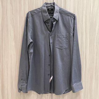 G2000 深灰色襯衫 男生襯衫 smart fit