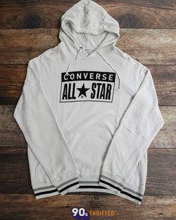 Hoodie Converse All Star Size : L  PxL : 70x58 Harga : Dm