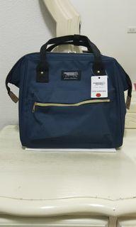 Lisa larson 條紋貓 多功能大口三用背包 側背包 後背包 手提包 外出包 旅行包