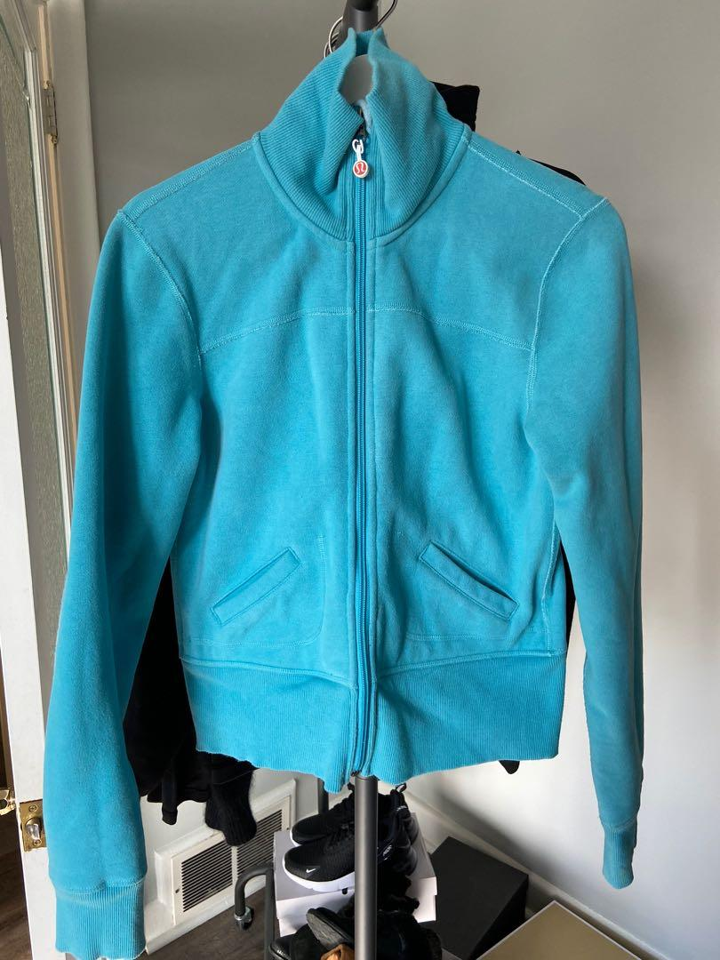 Lululemon Womens Zip Up Fleece Lined Sweater/Jacket