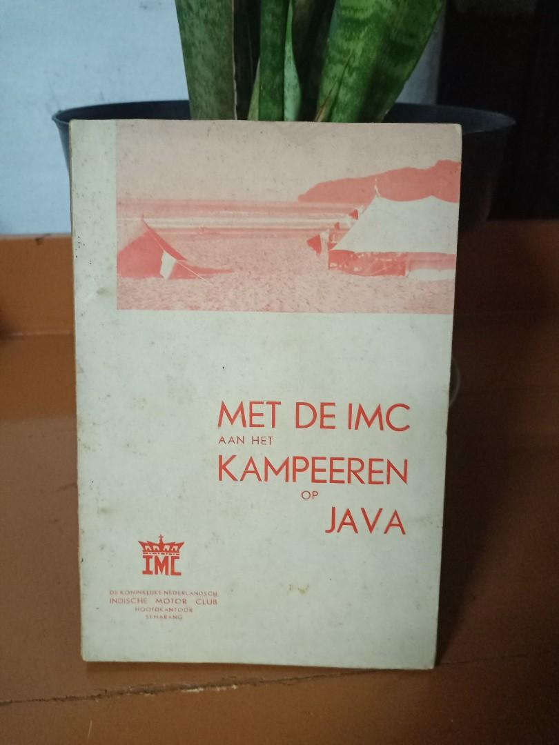 Met De IMC aan het kampeeren op Java