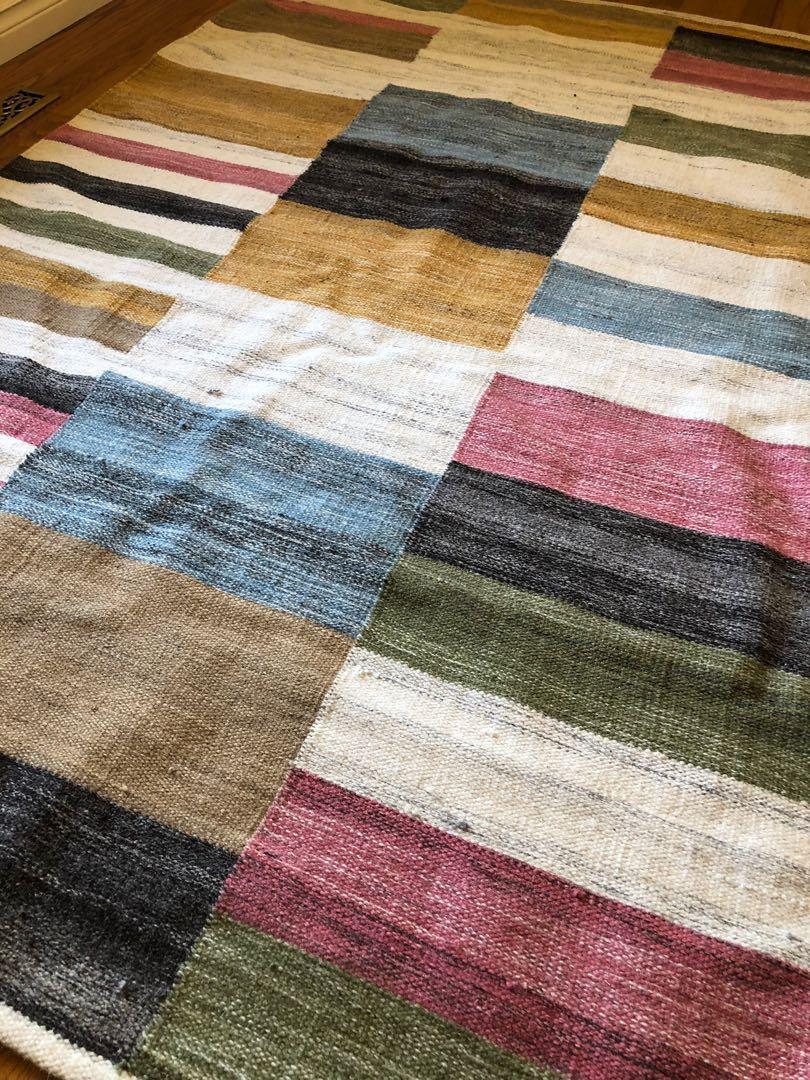 Spring Color Designer Area Rug from Homesense