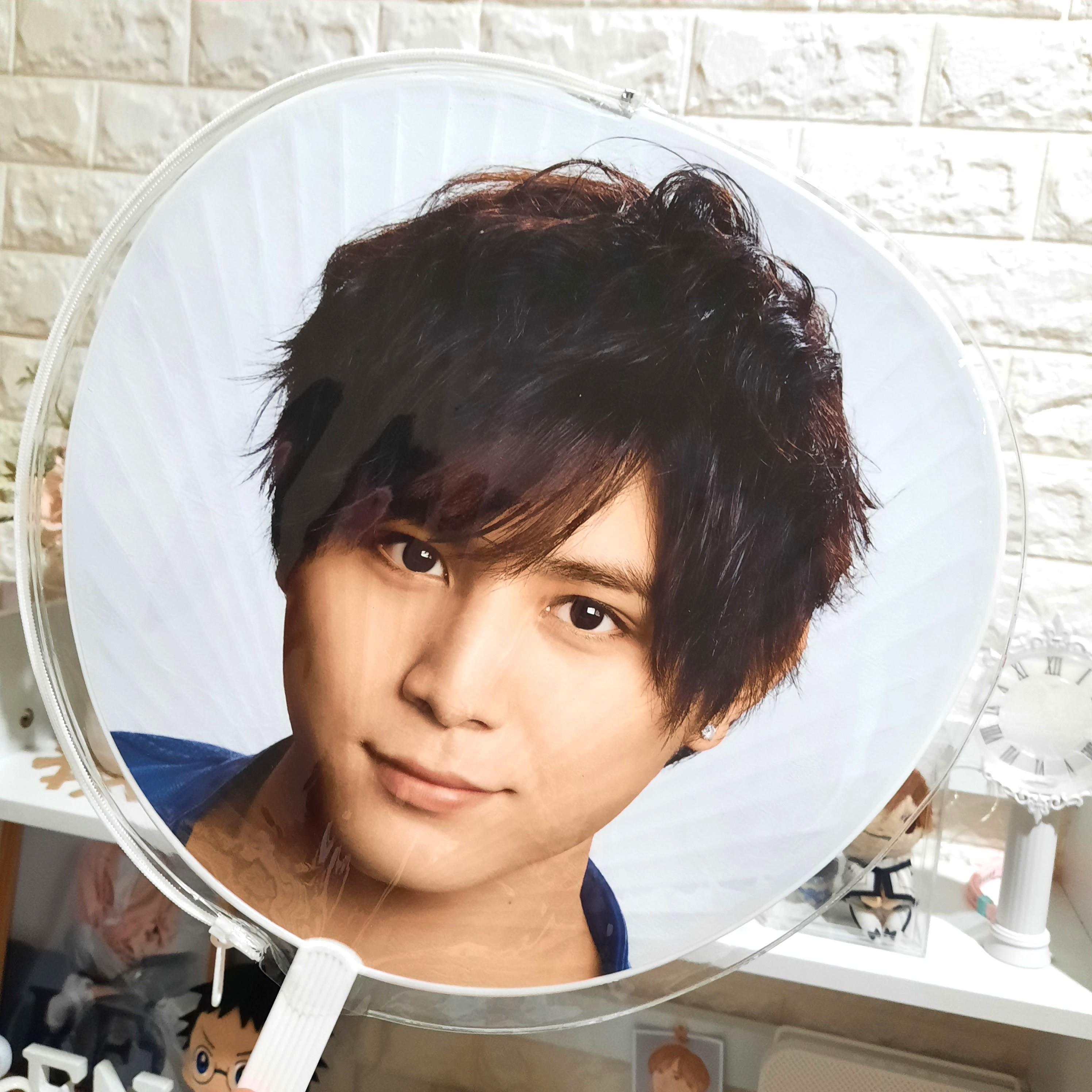 Transparent Cover for Uchiwa / Jumbo Fan