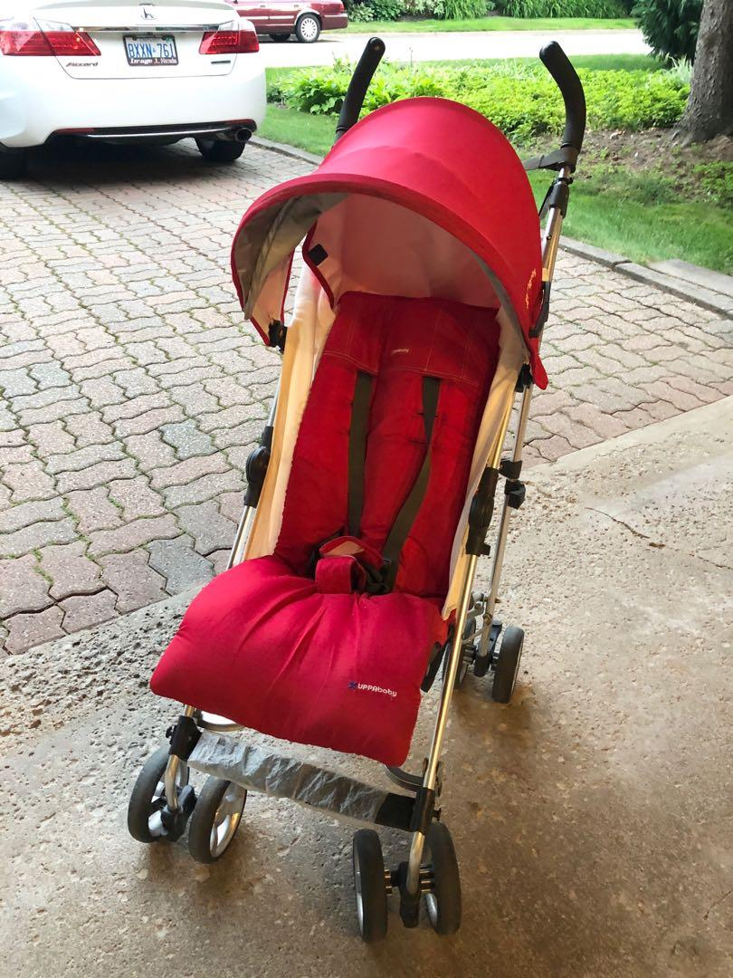 Uppababy Red G Luxe Stroller