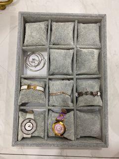 watch display tray
