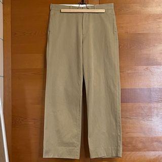 YAECA STRAIGHT CHINO CLOTH PANTS (W32)