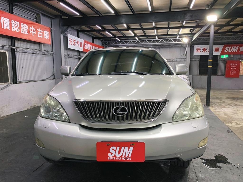 正2006年 出廠 Lexus RX350 3.5 旗艦型超貸 找錢 實車實價 全額貸 一手車 女用車 非自售 里程保證 原版件