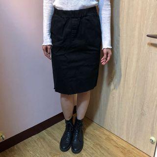 黑色窄裙(腰圍約33)
