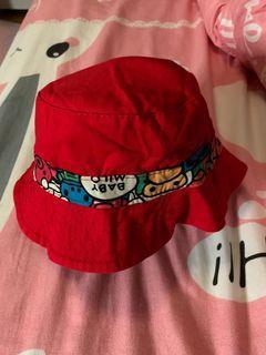 全新滿版猴子兩面可帶漁夫帽(小童帽)
