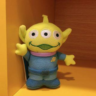 全新正版 日本迪士尼樂園 玩具總動員 皮克斯 三眼怪 阿三 娃娃 玩偶 吊飾 掛飾 鑰匙圈