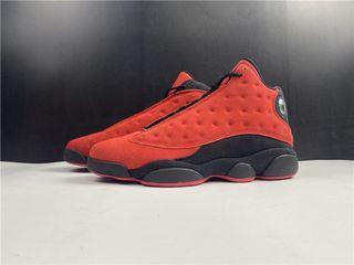"Air Jordan 13 ""Reverse Bred"" Sport Shoes In Leather  . Aj 1 3 4 5 7 11 13 14"