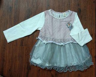 Atasan Baby Girl Pink