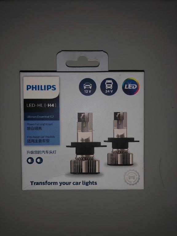 [BNIB/NEW] Philips LED Essential G2 Hi/Low H4 Garansi Resmi