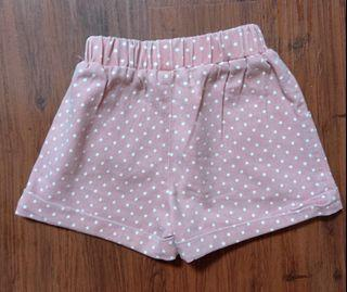 Celana Pink Polkadot