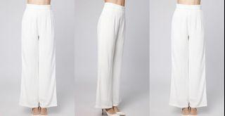 Chococips Boutique Long Culotte in White