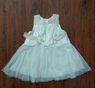 Dress Putih Baby Girl