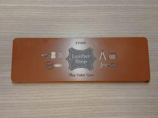 ETUDE HOUSE 皮革盤 Leather Shop 十色眼影盤