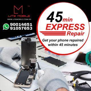 💯 45min IPhone Lcd Screen Repair , Housing repair , Back Glass Repair , Motherboard Repair
