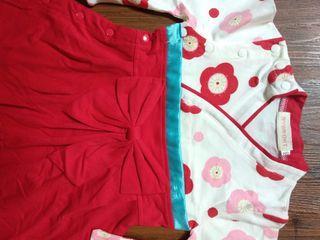 Kimono Baby Girl Merah