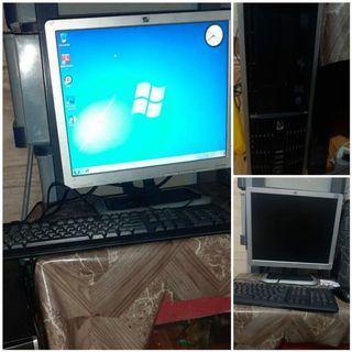 Set PC Komputer Hp Prosesor intel