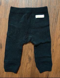 Legging Knit Hitam Baby