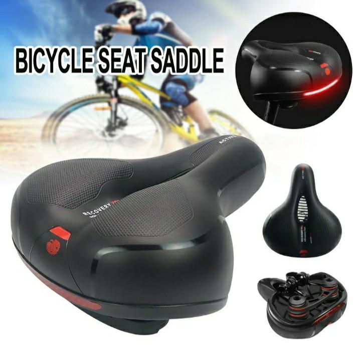 Bike Bicycle Saddle Cover Silicone Soft Seat Pad Cycling Anti-Slip Gel Cushion