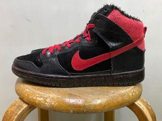 """Nike dunk sb high """"Krampus"""" size:11"""