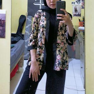 Outer Bunga Flower Pink