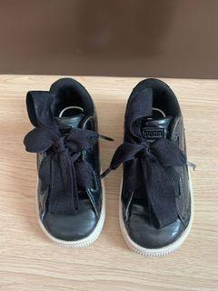 Puma basket black size 9