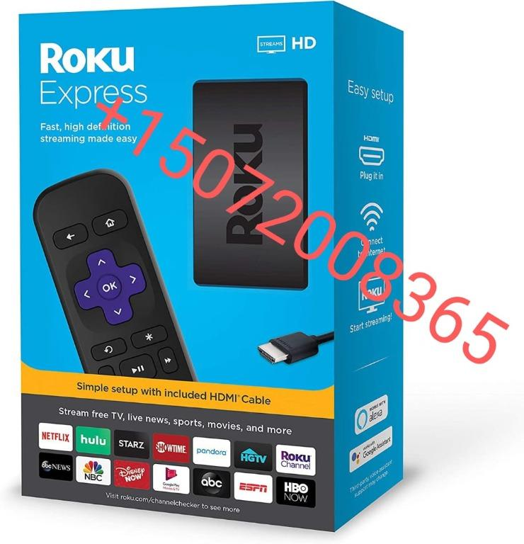 Roku Express Easy High Definition (HD) Streaming Media Player
