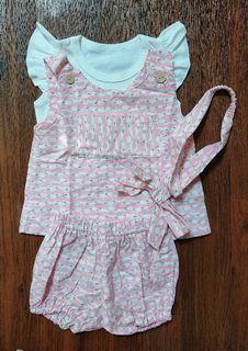 Set Baju Baby Pink Kelinci