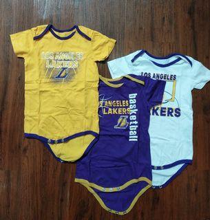 Set Lakers baby Jumpsuit