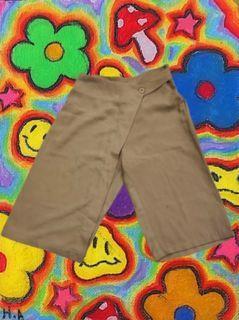 skort celana rok kulot ada karet