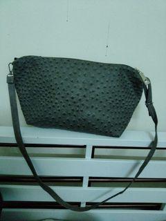 sling bag Ostrich skin