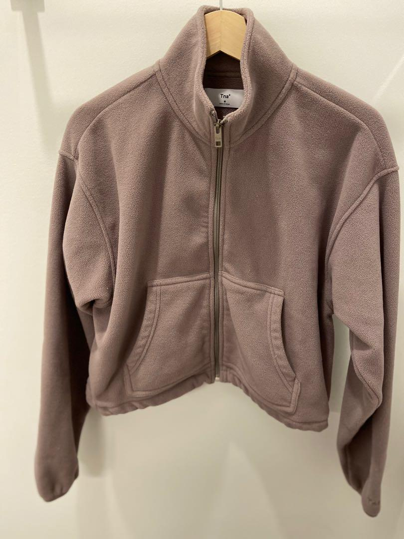 TNA CROPPED THERMAL ZIP