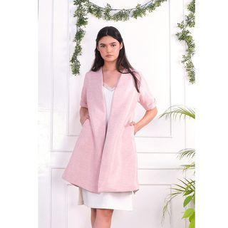 We Work RTW Baby Pink Outerwear