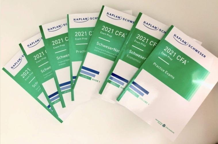 2021 CFA Level 1 books pack