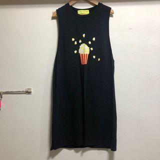 韓版 無袖背心洋裝