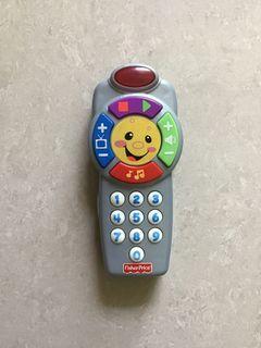 美國 Fisher-Price  Laugh & Learn™ Click 'n Learn Remote